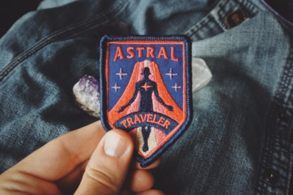 Astral Traveler Patch in hand