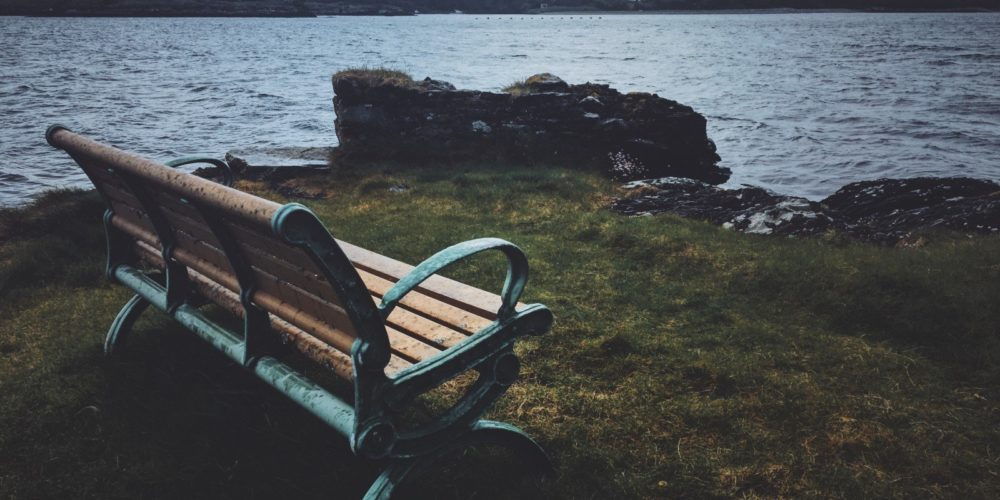Bench in Ireland