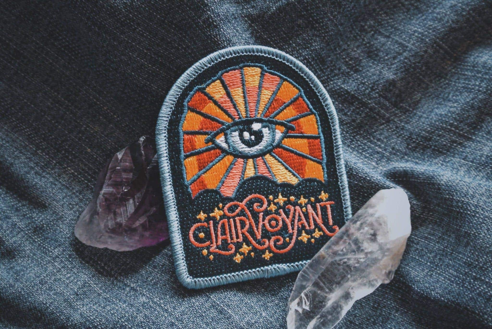 Clairvoyant Patch - Metaphysical Fashion Accessory