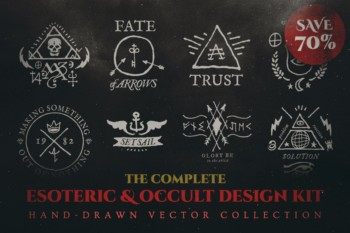 Esoteric Occult Vector Collection