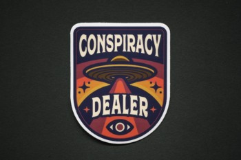 Conspiracy Dealer Sticker 1