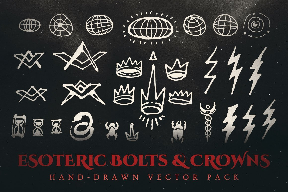 esoteric bolts and crowns