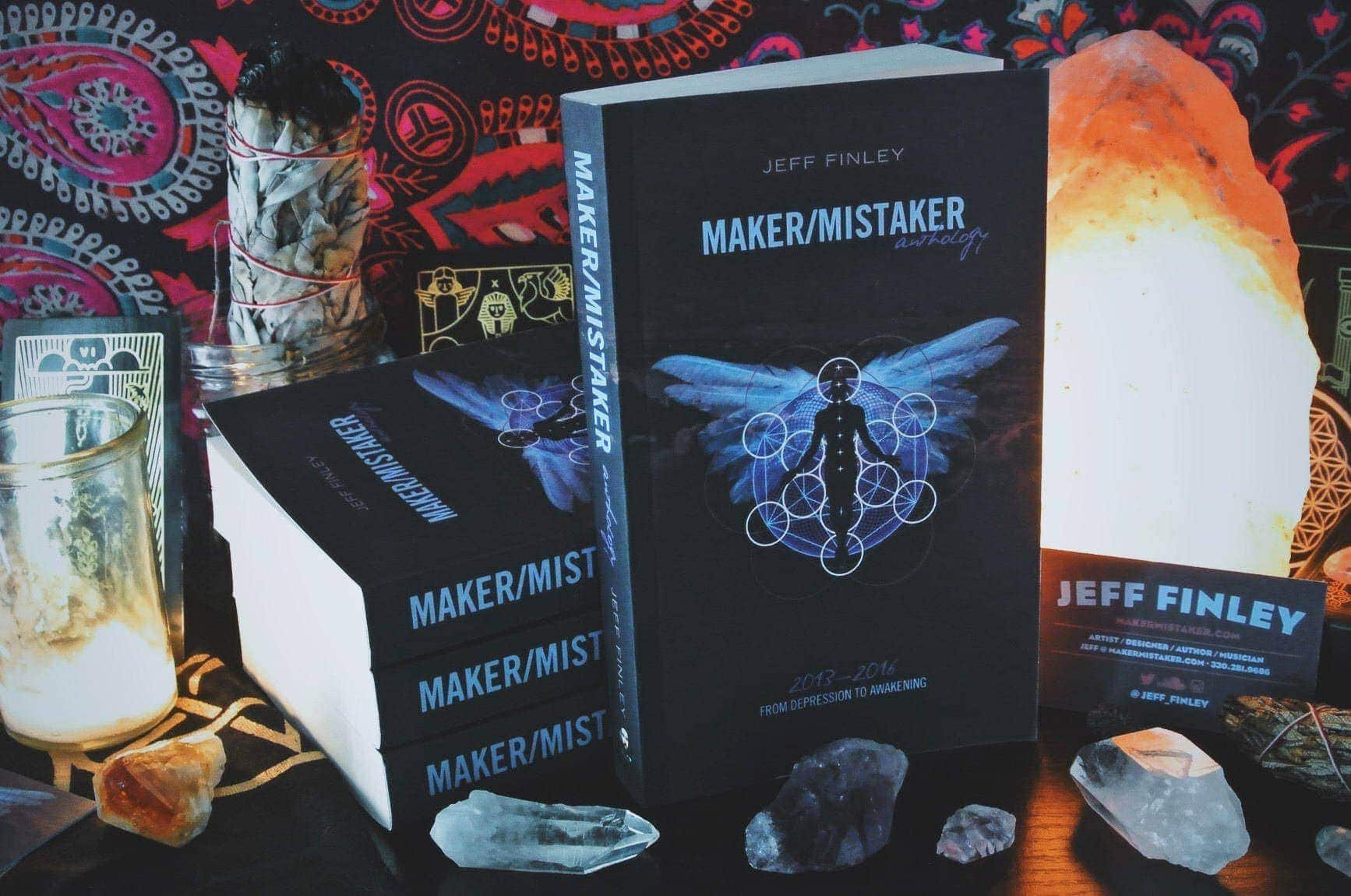 Maker/Mistaker Book - Real Talk on Our Struggle as Creators & Makers
