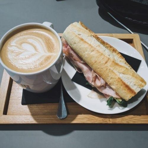 Moleskin Cafe food