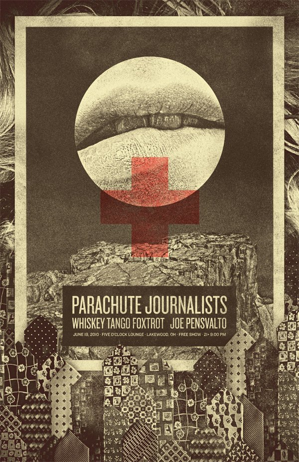 parachute journalists poster june 19 2010