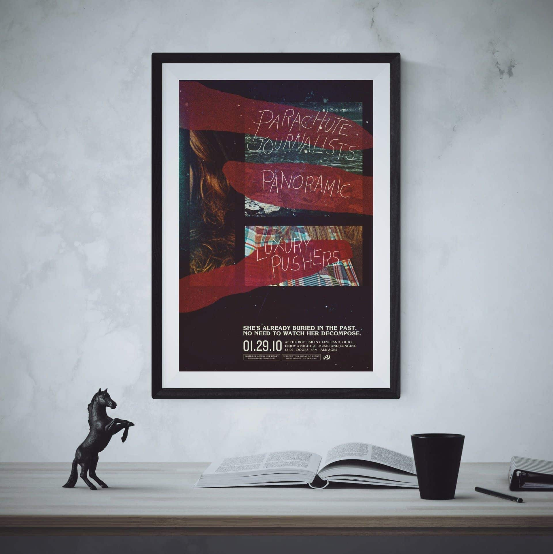 Parachute Journalists Poster