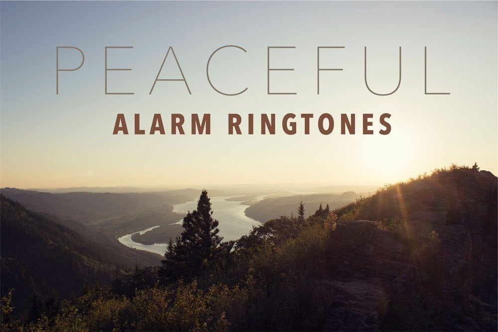 Peaceful Alarm Ringtones