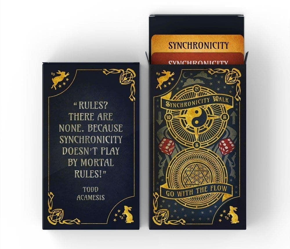 Synchronicity Walk card game