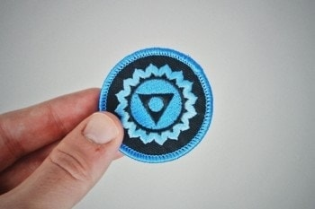 Throat Chakra Patch (Vishuddha) 5