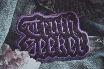 Truth Seeker Patch - Purple