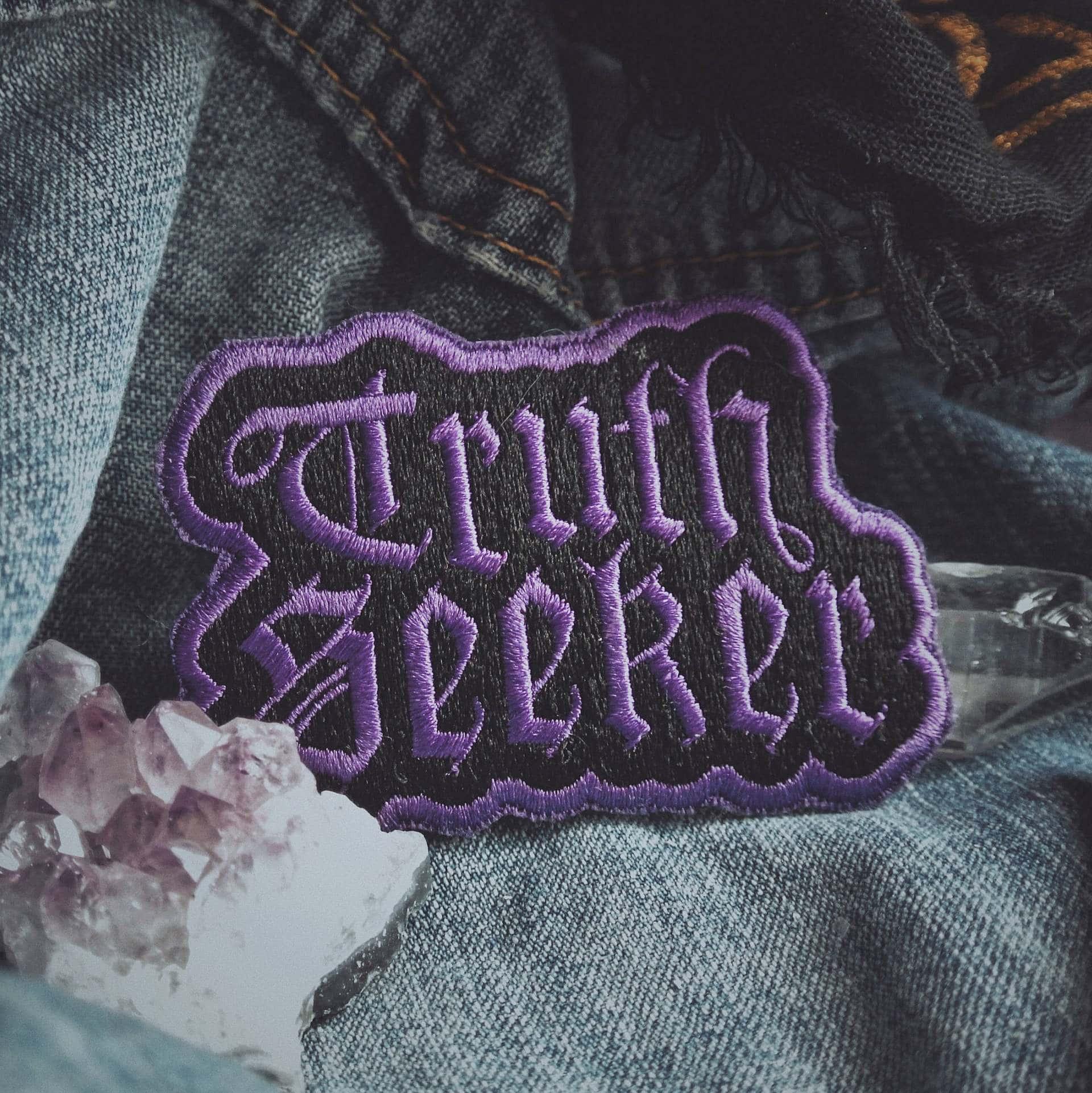 Truth Seeker Patch - Purple