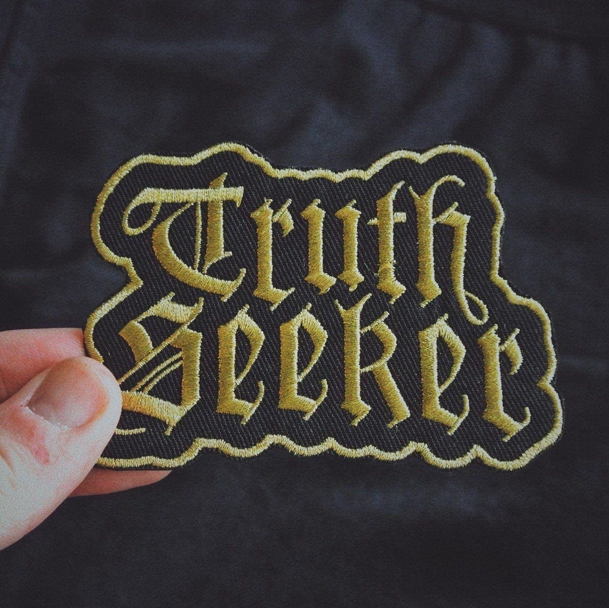 Gold Truth Seeker Patch