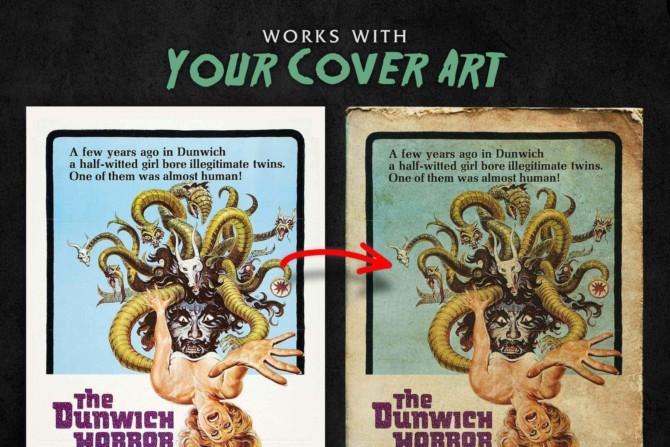 Worn Paperback Book Textures