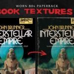 Worn 80s Paperback Textures Part 3